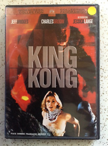 KING KONG (1976). DVD. Jessica Lange, Jeff Bridges.