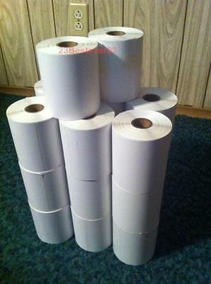 16 Rolls 4 X 6 Zebra Direct Thermal Shipping Printer Labels 2504000 Free Ship