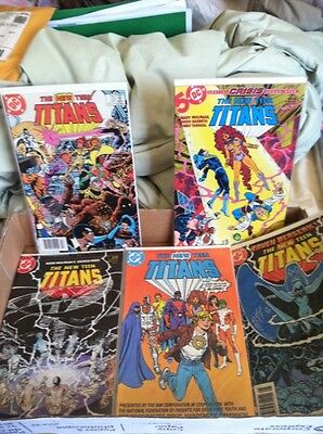 The New Teen Titans Vol  1 Dc Comics 5 Lot  Issues 2 14 31 37   Drug Awareness