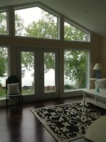 LAST MINUTE WKND REDUCTION, NEW, EXEC.  BOBCAYGEON WATERFRONT!