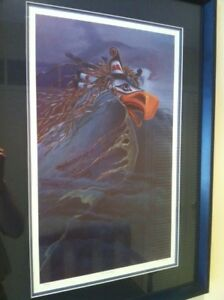 "LIMITED EDITION PRINT BY RON STACY ""THUNDERBIRD"" 391/450 Framed"