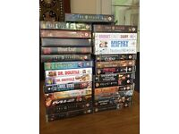 27 DVDs- various films- children and adult-very good condition