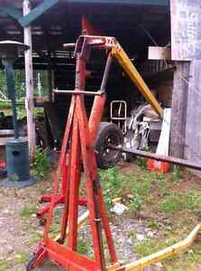motor lifter and engin stand