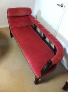 Chaise Lounge - French Style - Vintage Antique Corinda Brisbane South West Preview