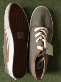 """New """"Front"""" Canvas Trainers - Size 8/42"""
