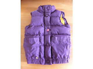 Little joules gilet (like new) size 116cm age 6