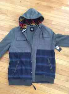 Men's Hurley Pendleton Jacket Brand New