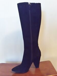 Tall Black Fashion Boot 8 Strathcona County Edmonton Area image 2