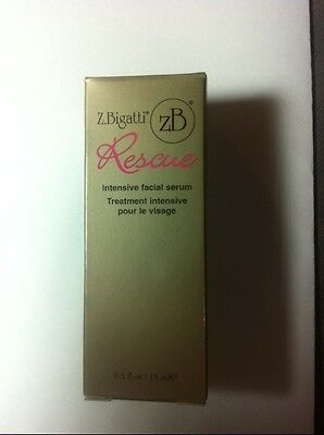 Z. Bigatti Rescue Intensive Facial Serum 0.5oz ANTI AGING NIB SEALED FREE SHIP