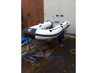 yamaha inflatable boat dinghy tender rib yam 3.0 s metre 10ft