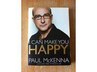 Paul McKenna book - I Can Make You Happy + Free CD