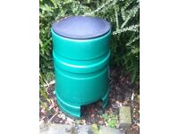 Greencomposter with lid