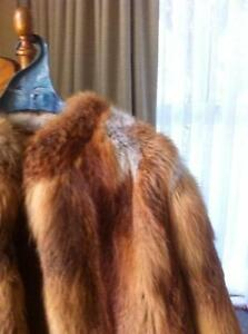 Fur Red Fox Coat Donvale Manningham Area Preview
