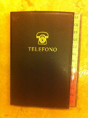 rubrica telefonica mini tascabile borsa scuola ufficio casa