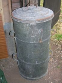 Agricultural Feed Bin or Garden Water Feature