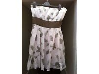 BEAUTIFUL LADIES DRESS BY TSEGA (PARTY / CHRISTMAS / WEDDING ) - SIZE M