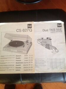 Dual CS 627Q  turntable record player