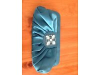 Turquoise Clutch bag/purse
