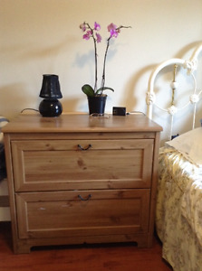 Book shelf, dresser,small round Table  for sale