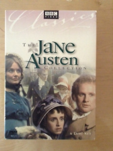 JANE AUSTEN COLLECTION. BBC. 6 MINISÉRIES SUR 6 DVD.