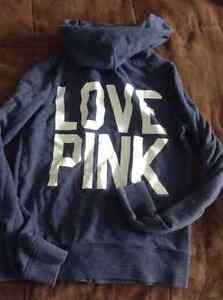 Pink Sweatshirt Hoodies and Pullovers, Small and Medium Sizes