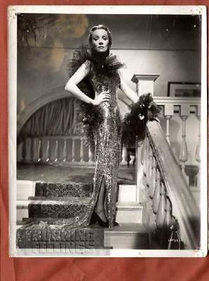 MARLENE DIETRICH GLAMOUR FASHION 1930 ULTRA RARE PHOTO
