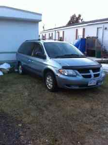 2002,03, 2004& 2005 Dodge Caravan Minivans,for parts or repair
