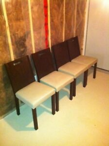 Set of 4 chairs - Delivery available
