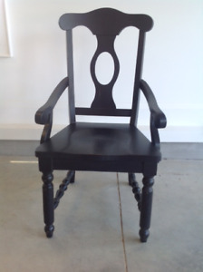 Chair   Solid well made chair  Good condition