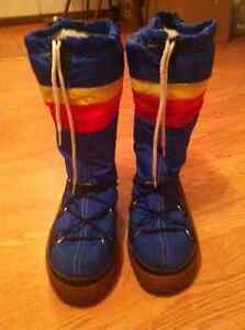 Vintage 1970's Snowmaster Rainbow Winter boots Cornwall Ontario image 3