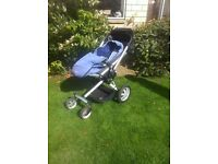 Pram Quinny Buzz including foot muff and Dreami carrycot + buggy board if needed!