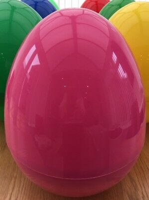 GIANT PLASTIC HOLLOW EASTER/PARTY/GIFT SURPRISE  EGG JELL PLASTICS  - Easter Party