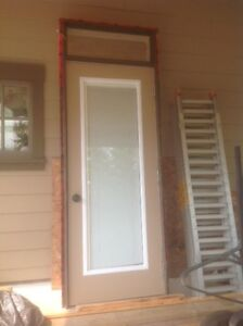 Entrance Door/Transom Unit