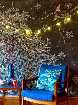 Chalk up a cracking Christmas tree. Credit: Resurrection Fern blog