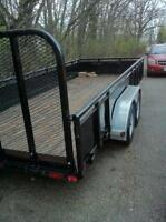18 foot trailer FOR RENT