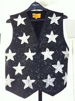 Be a Star for Christmas!  Sequined Star Vest