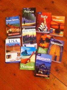x10 Lonely Planet Guides Books in great condition Richmond Yarra Area Preview