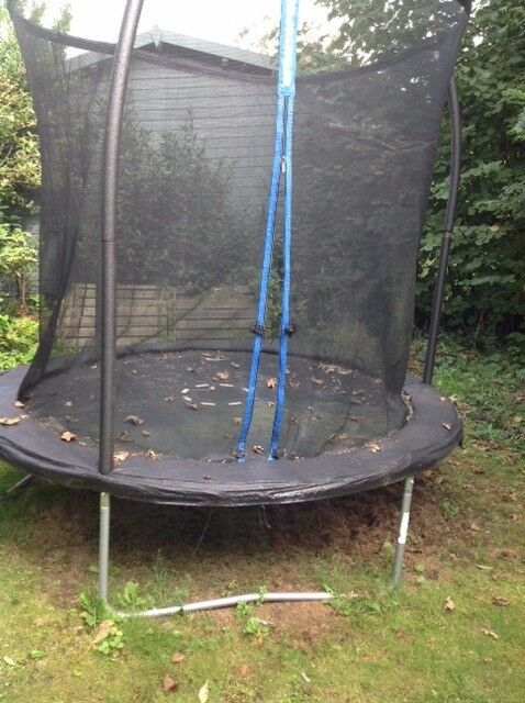 Outdoor Trampoline Excellent Condition