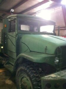 1956 deuce and a half army truck