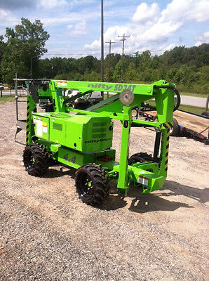 Nifty Sd34 Self Propelled Boom Manlift 40 Work Heightdiesel