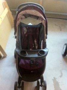 Graco Fast Action Fold Stroller Minnie Mouse, Pink/Puple