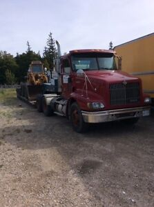 International 9200 with float