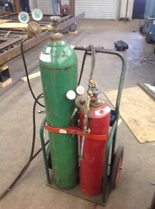 where to oxygen acetylene filled without contract