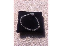 Pandora charm bracelet.