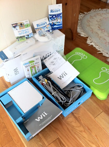 Wii Sports and Wii Sports Resort etc
