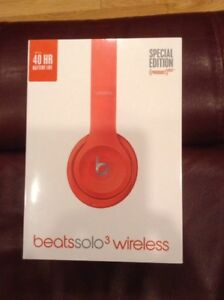 BRAND NEW Beats Solo Wireless In Box RED