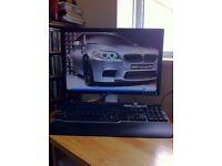 Dell flatscreen 20in computer monitor