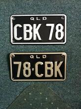 CB750 Personalised Motorcycle Plates Kippa-ring Redcliffe Area Preview