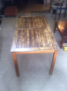 Dining table/outdoor picnic table