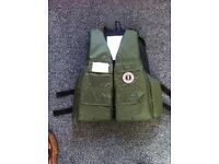 PFD 'Mustang Survival' small/medium 34-42 inch anglers type